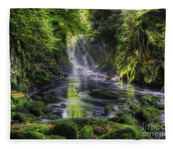 Fairy Glen Fleece Blanket