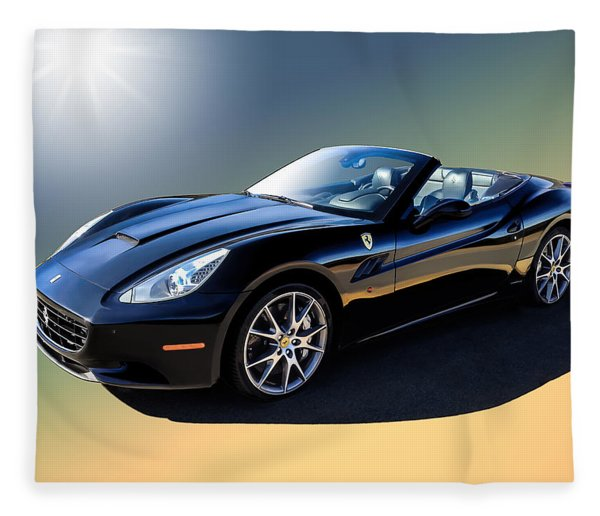 Ferrari California Fleece Blanket