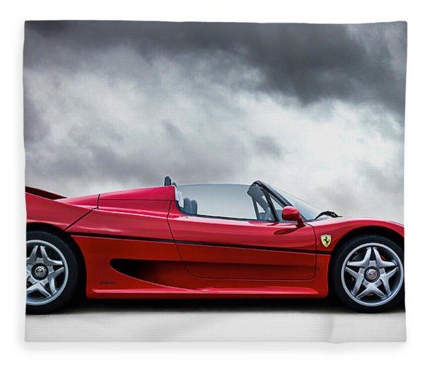 Ferrari F50 Fleece Blanket