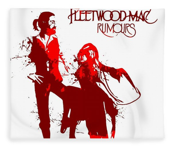 Fleetwood Mac Rumours Fleece Blanket