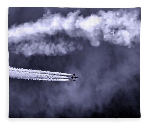 Flight Of The Thunderbirds Fleece Blanket