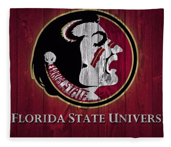 Florida State University Barn Door Fleece Blanket