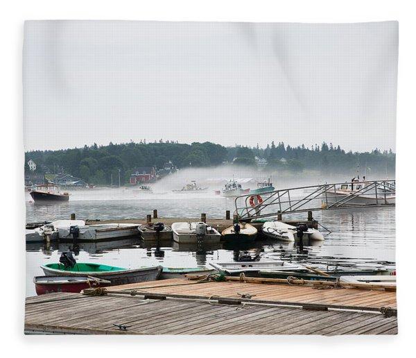 Fog Bound Fleece Blanket