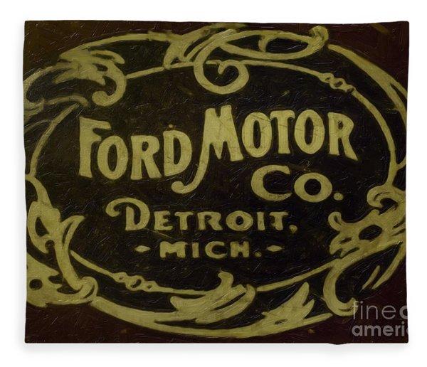 Ford Motor Company Fleece Blanket