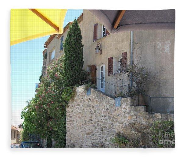French Riviera - Ramatuelle Fleece Blanket