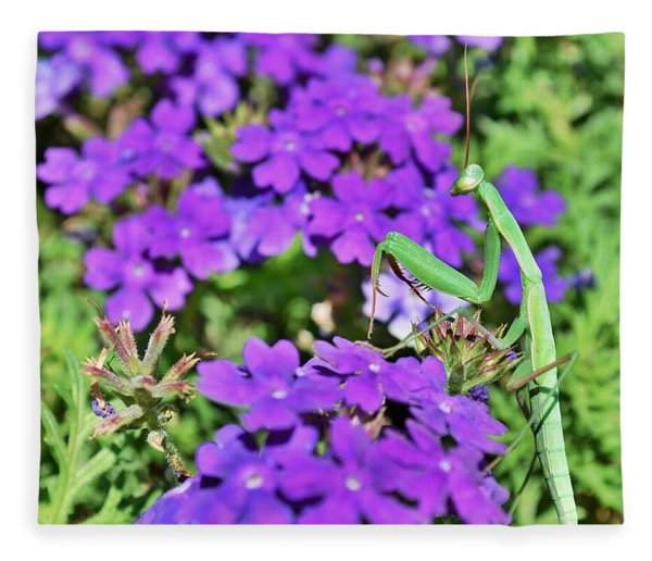 Garden Prayer Fleece Blanket