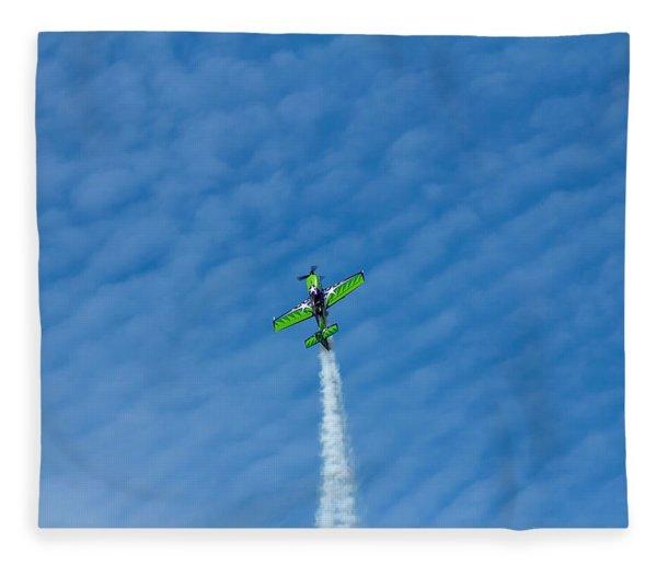 Gary Ward Taking His Mx2 To Great Heights Fleece Blanket