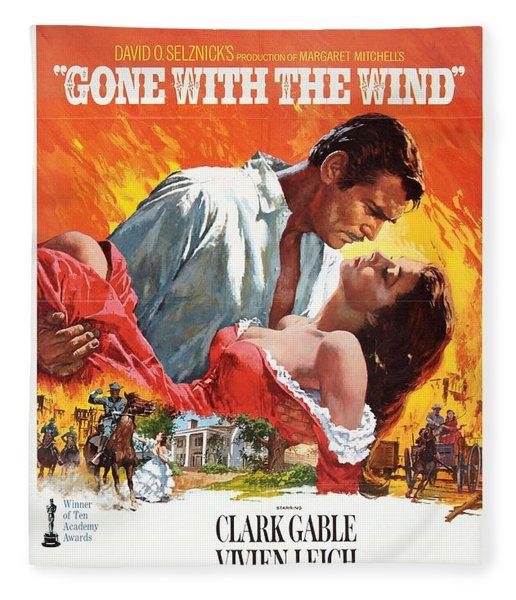 Gone With The Wind - 1939 Fleece Blanket