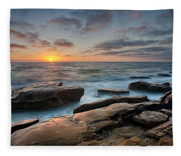 Goodnight Windnsea Fleece Blanket
