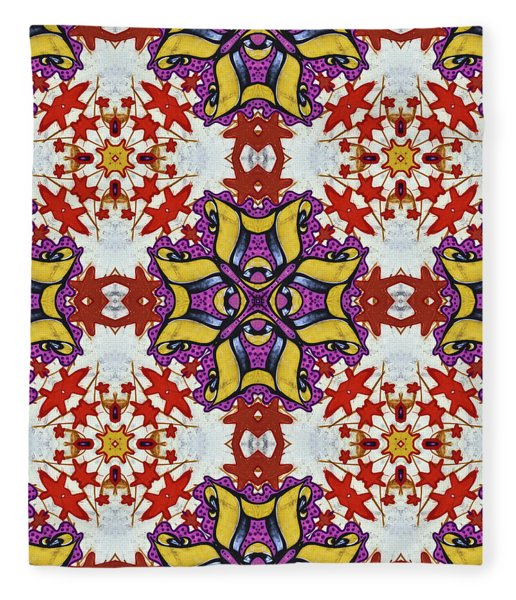 Graffito Kaleidoscope 40 Fleece Blanket