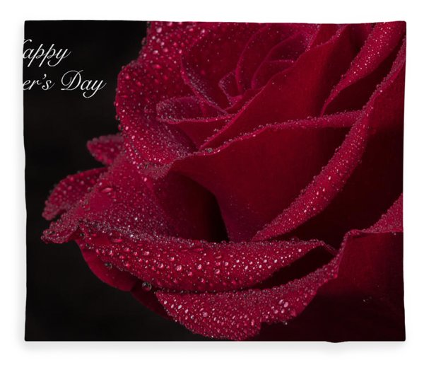 Fleece Blanket featuring the photograph Happy Mother's Day by Garvin Hunter