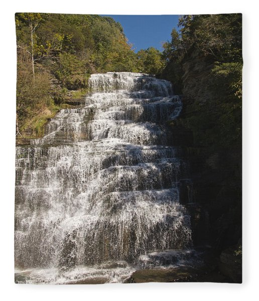 Hector Falls Fleece Blanket