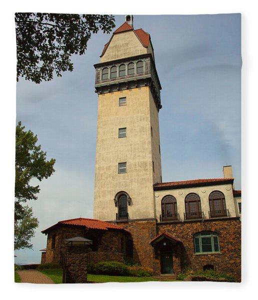 Heublein Tower Fleece Blanket