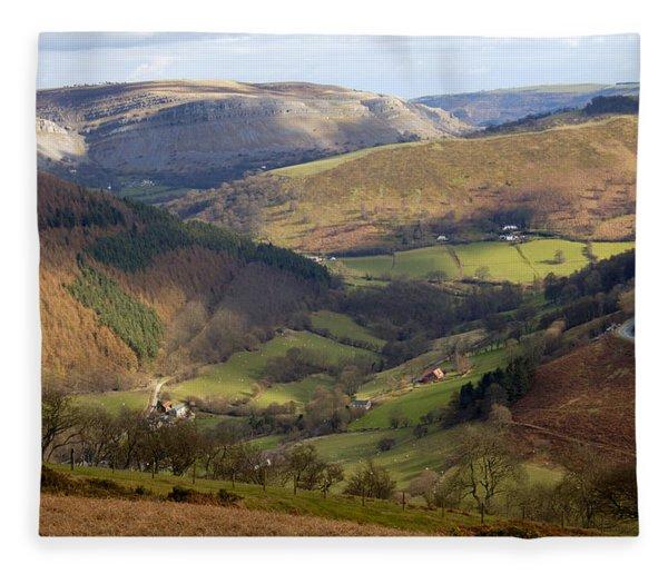 Highlands 2 - Scotland Fleece Blanket