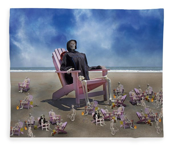 I Still Know What You Did Last Summer Fleece Blanket