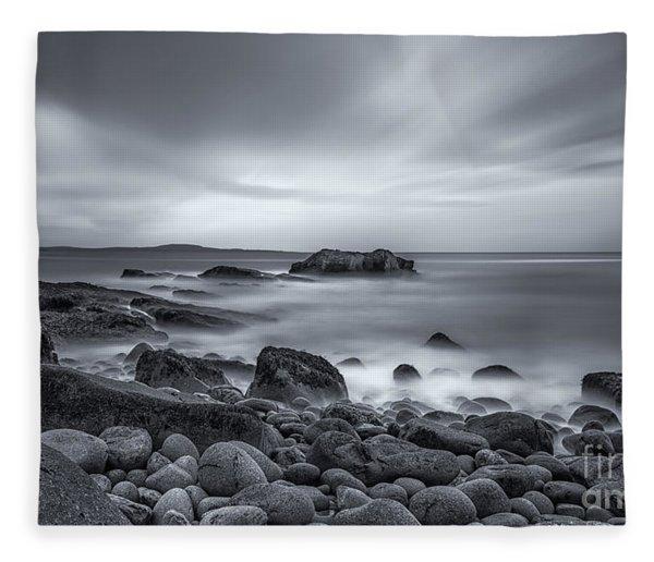 In A Tidal Wave Of Mystery Fleece Blanket