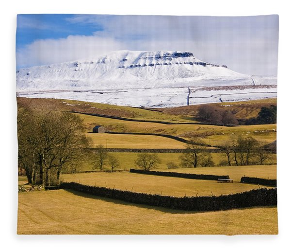 Ingleborough Fleece Blanket