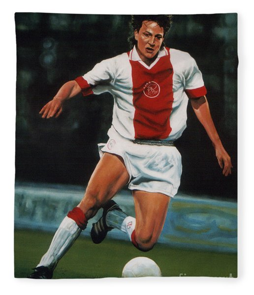 Jari Litmanen Fleece Blanket