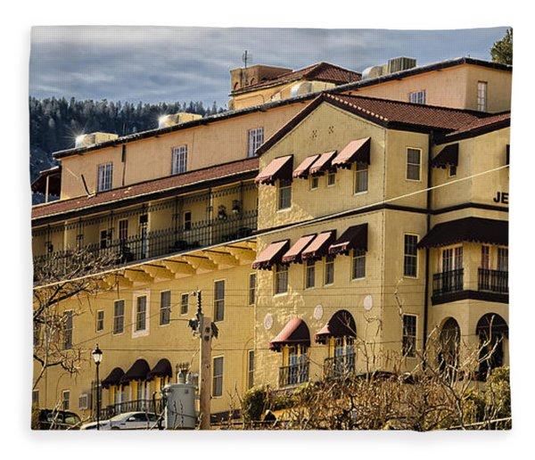 Jerome Grand Hotel No.18 Fleece Blanket