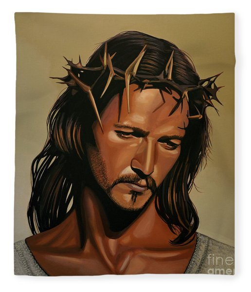 Jesus Christ Superstar Fleece Blanket