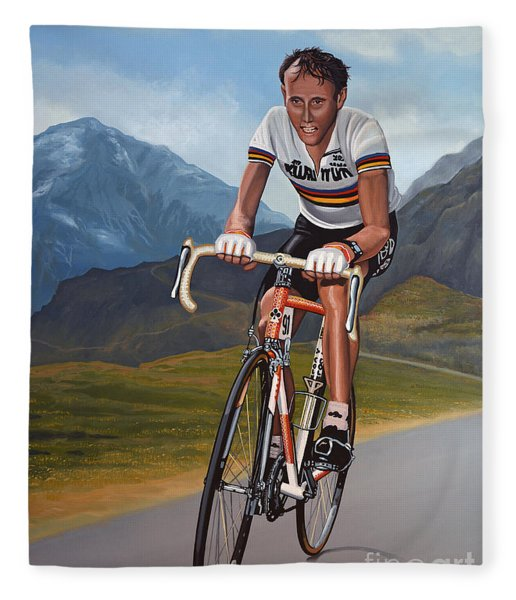 Joop Zoetemelk Fleece Blanket