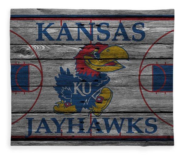 Kansas Jayhawks Fleece Blanket