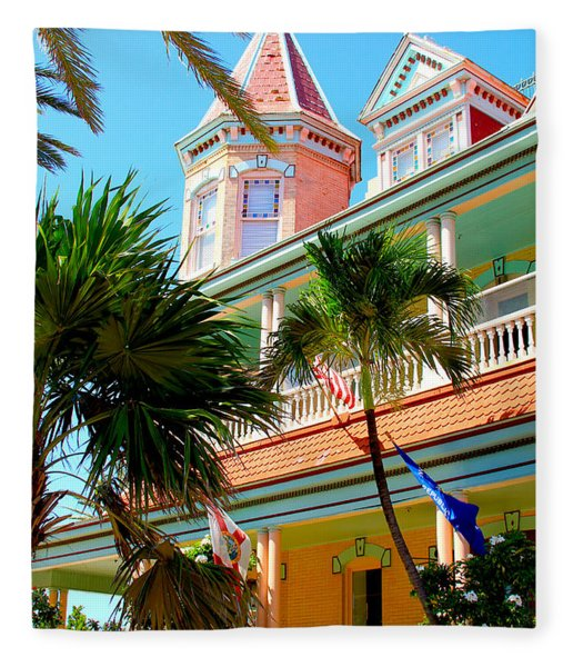 Key West Fleece Blanket