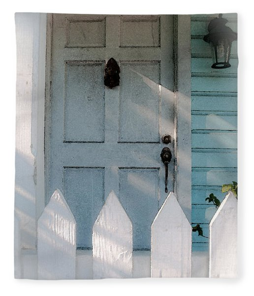 Key West Welcome To My Home Fleece Blanket