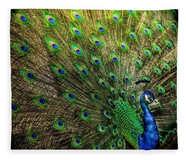 King Of Birds Fleece Blanket