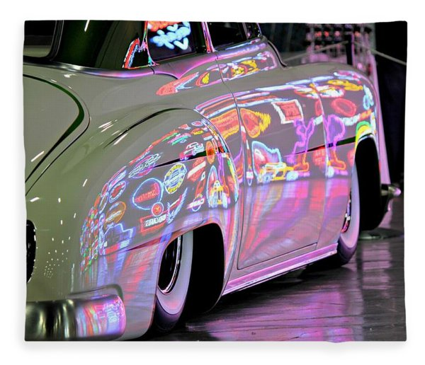 Kustom Neon Reflections Fleece Blanket