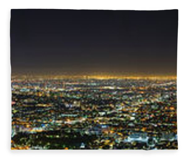 La At Night Fleece Blanket
