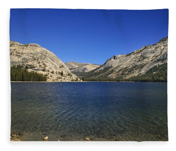 Lake Ellery Yosemite Fleece Blanket