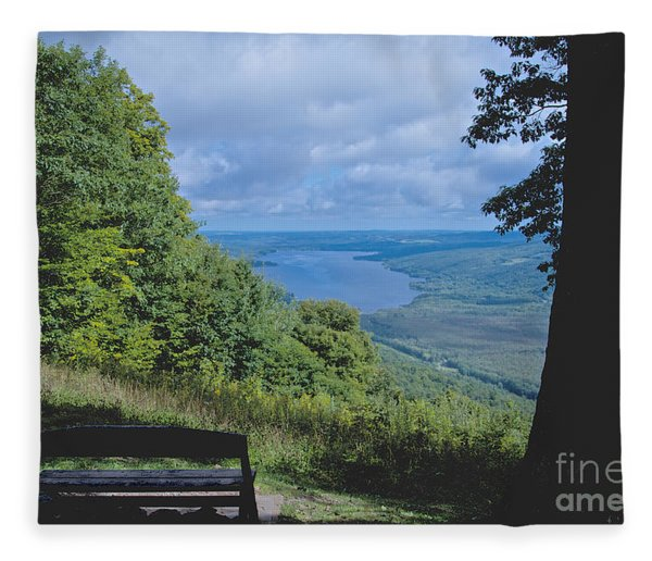 Lake Vista Fleece Blanket