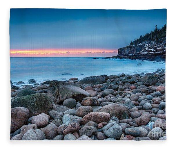 Land Of Sunrise Fleece Blanket