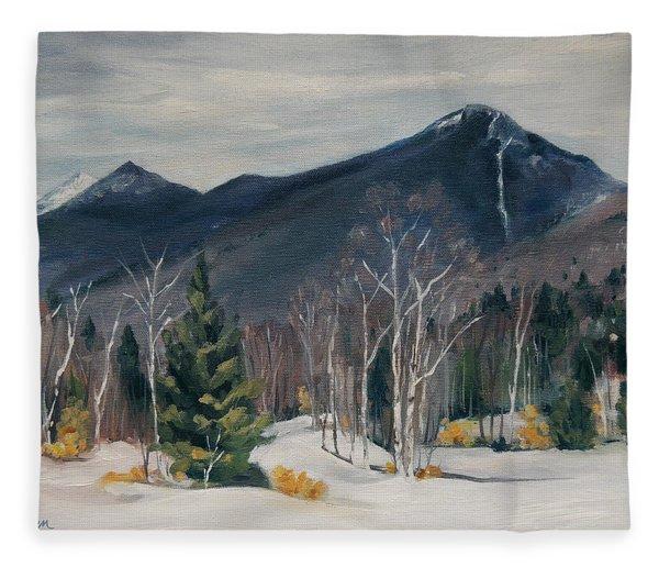 Liberty In Franconia Range Fleece Blanket