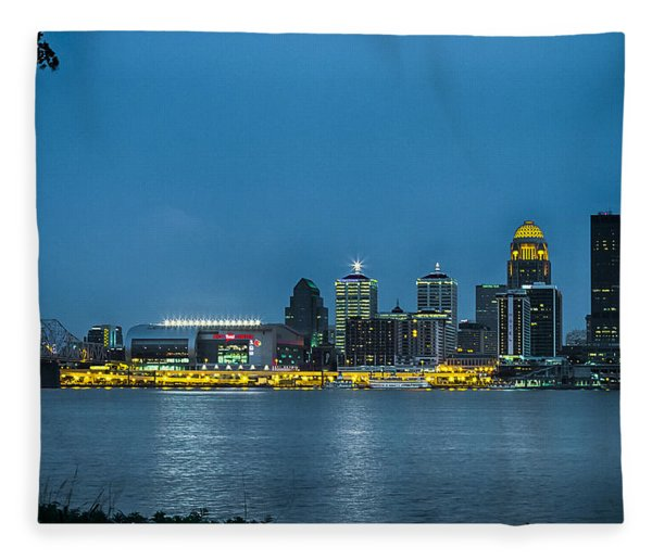 Louisville Ky 2012 Fleece Blanket