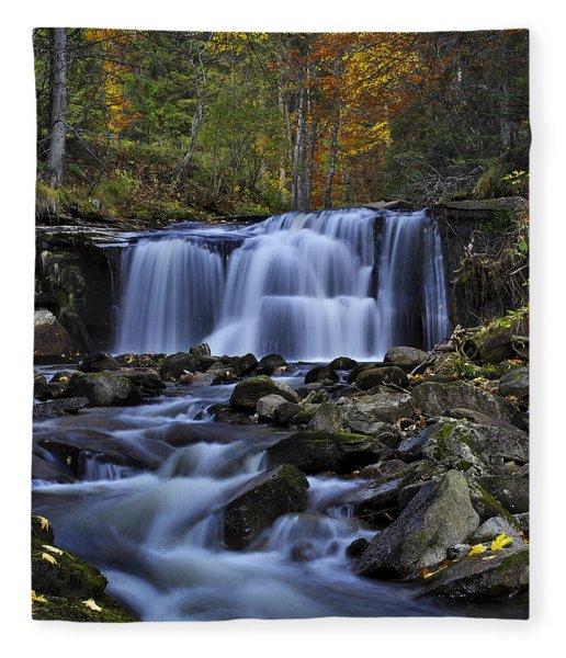 Magnificent Waterfall Fleece Blanket