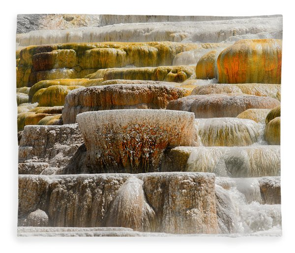 Mammoth Springs Fleece Blanket