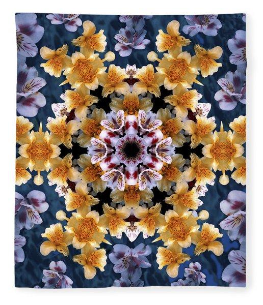 Mandala Alstro Fleece Blanket
