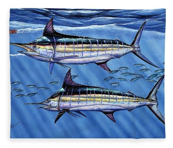 Marlins Twins Fleece Blanket