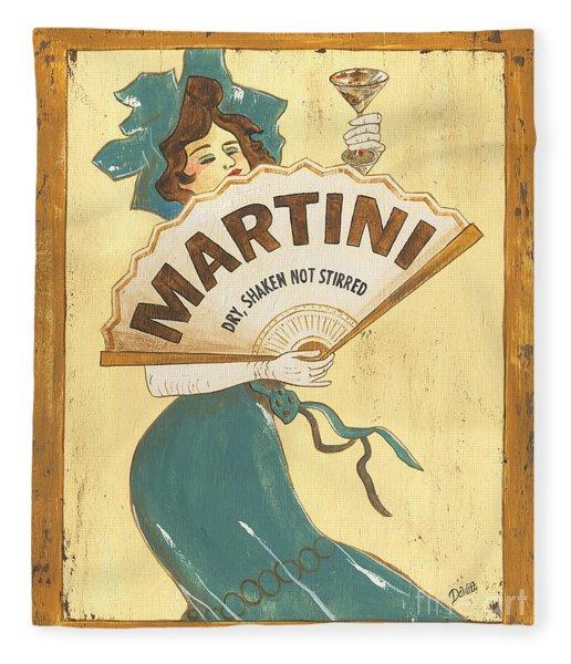 Martini Dry Fleece Blanket