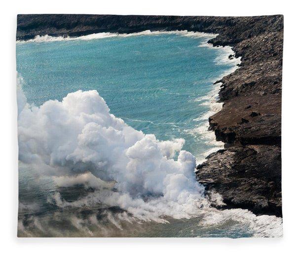 Mauna Loa Fleece Blanket