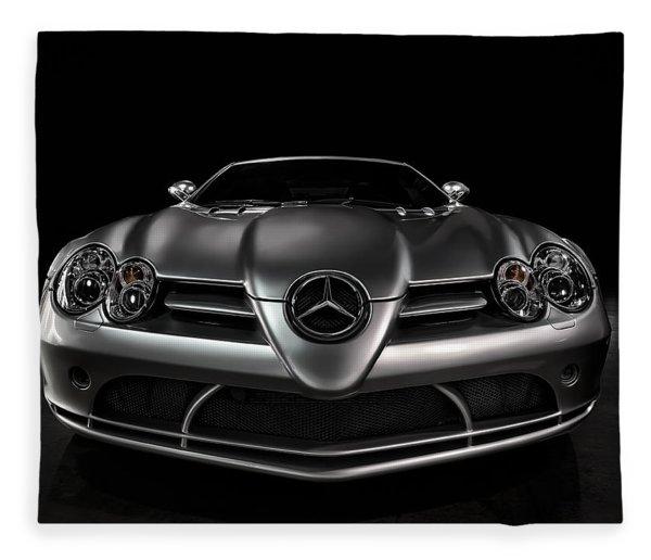Mercedes Mclaren Slr Fleece Blanket
