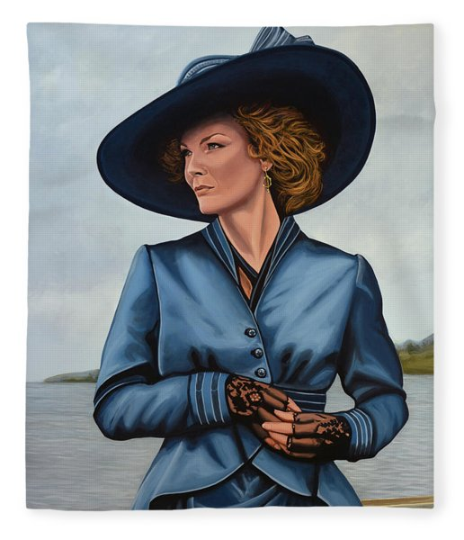 Michelle Pfeiffer Fleece Blanket