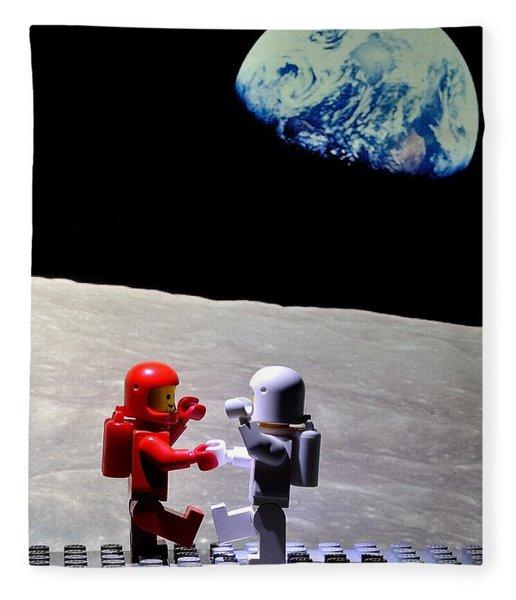 Moondance Fleece Blanket