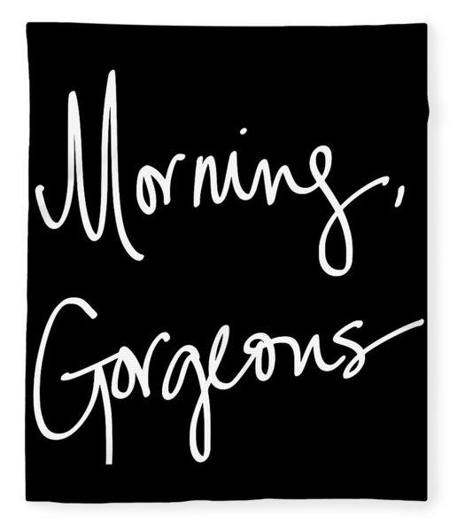 Morning Gorgeous Fleece Blanket