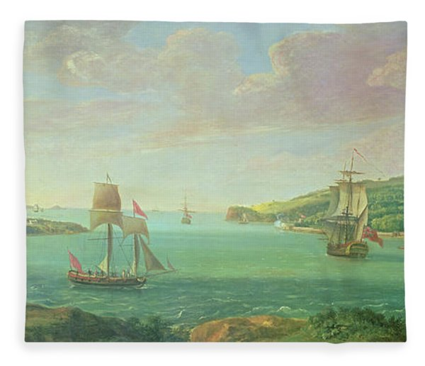 Mount Edgcumbe Fleece Blanket