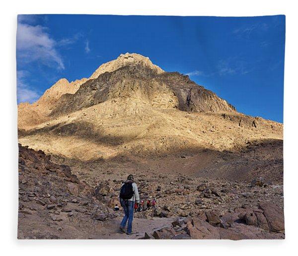 Mount Sinai Fleece Blanket