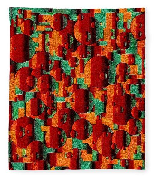 Movement Of Symphonic Warmth Fleece Blanket