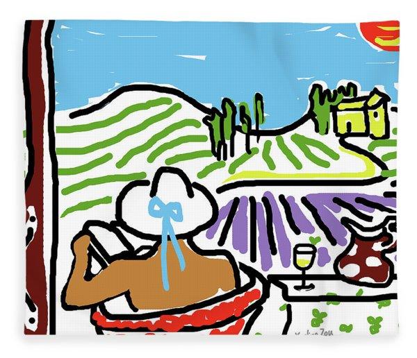 My Tuscany Dream 2 Fleece Blanket